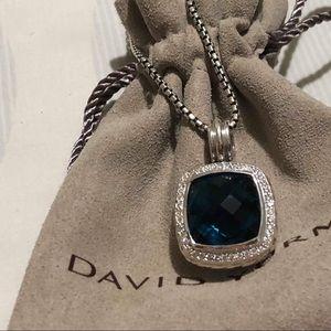 David yurman 14mm ring blue Hampton   necklace 18